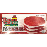 Red Castle 100% All Beef Hamburgers