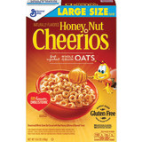 General Mills Honey-Nut Cheerios (15.4 oz.) or Cheerios (18 oz.) Cereal