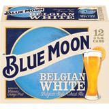 Blue Moon or Corona Beer 12 Pack