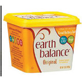 Earth Balance Spread Tub or Vegan Buttery Sticks