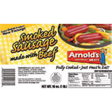 Arnold's Smoked Beef Sausage