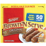 Banquet Brown 'N Serve Fully Cooked Sausage