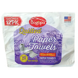 Bogopa Bath Tissue 20 Roll Pack or Paper Towels 12 Roll Pack